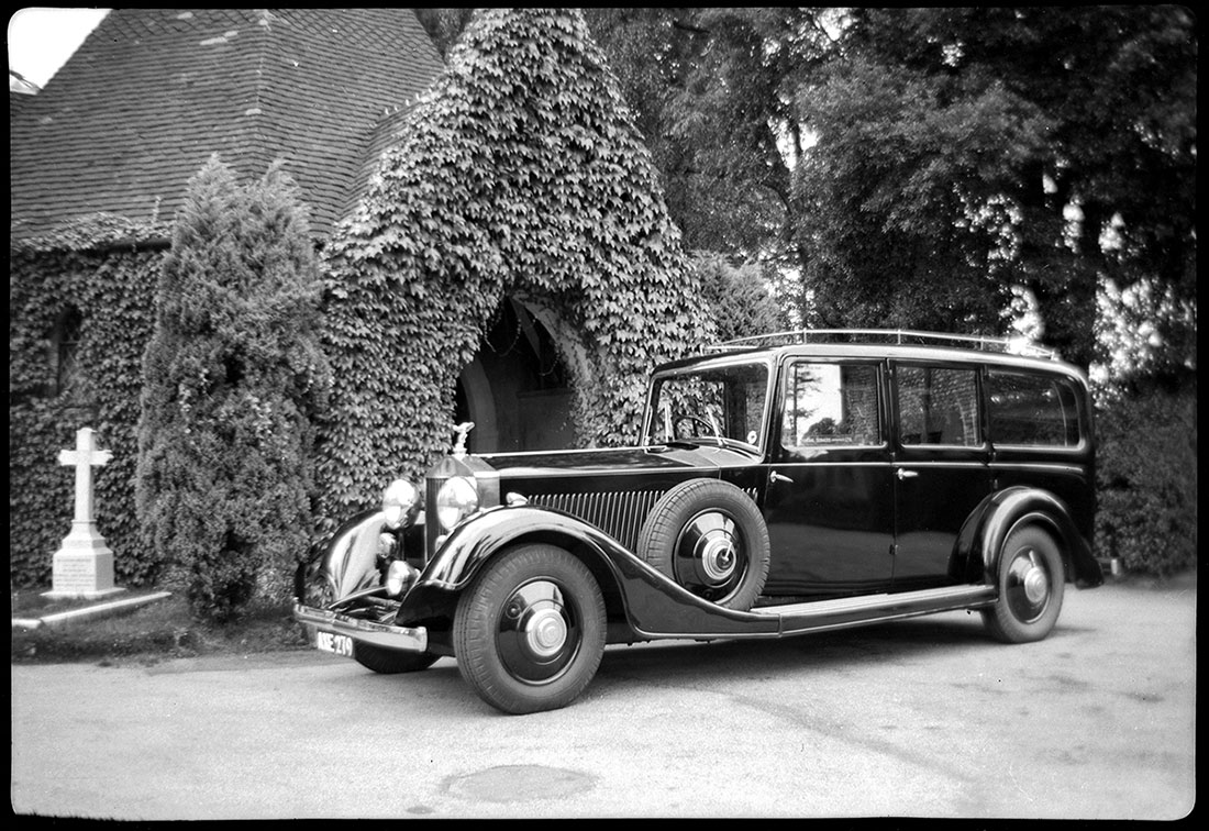 Original Hearse Circa 1930's