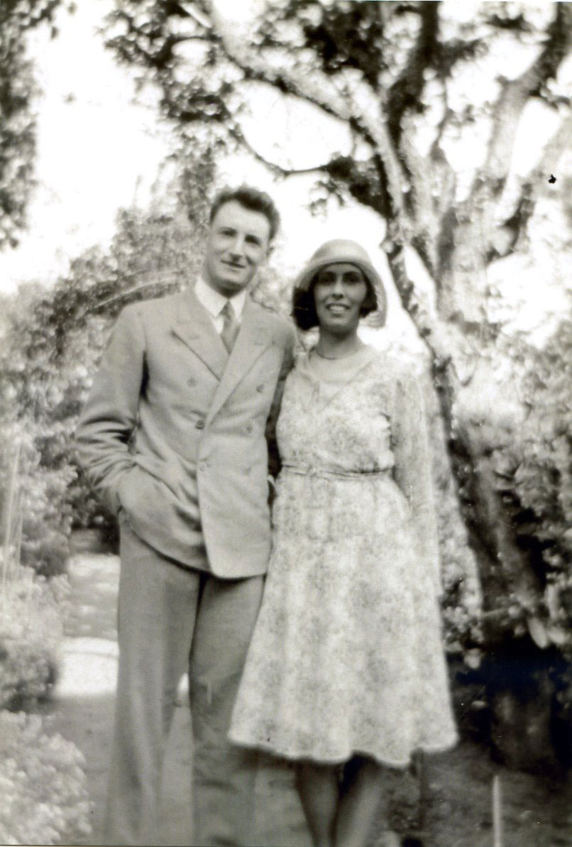 Percy Vincent and his wife Beryl